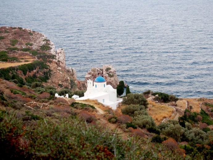 Viaje a Grecia costa isla sifnos