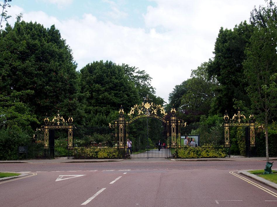 Regents Park 10 cosas que ver puerta rosaleda