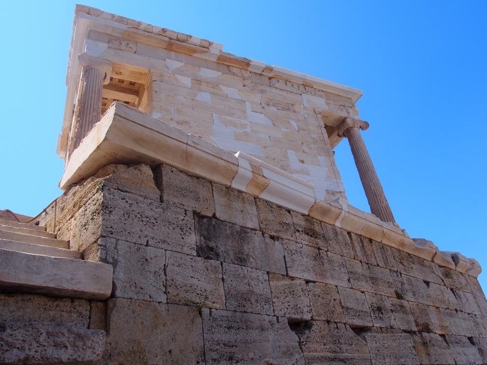 Acrópolis y ágora antigua atenea nike