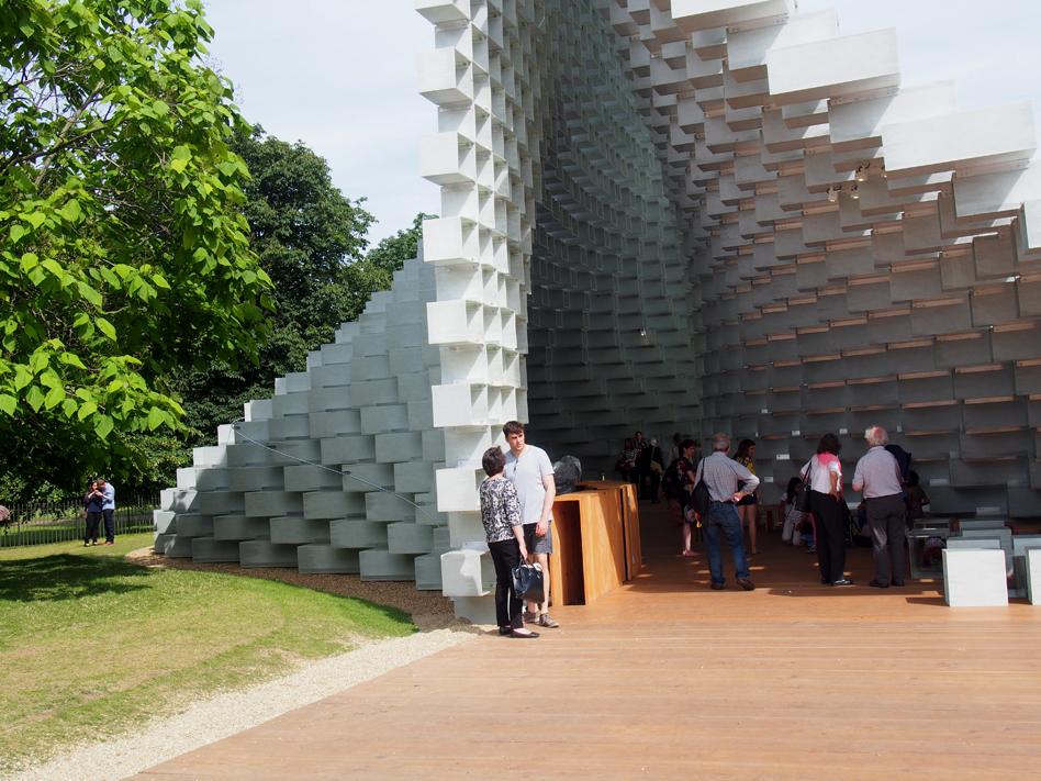 Serpentine Gallery Pavilion 2016 desde fuera