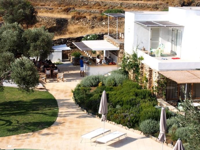 Hotel Kamarotí en Sifnos