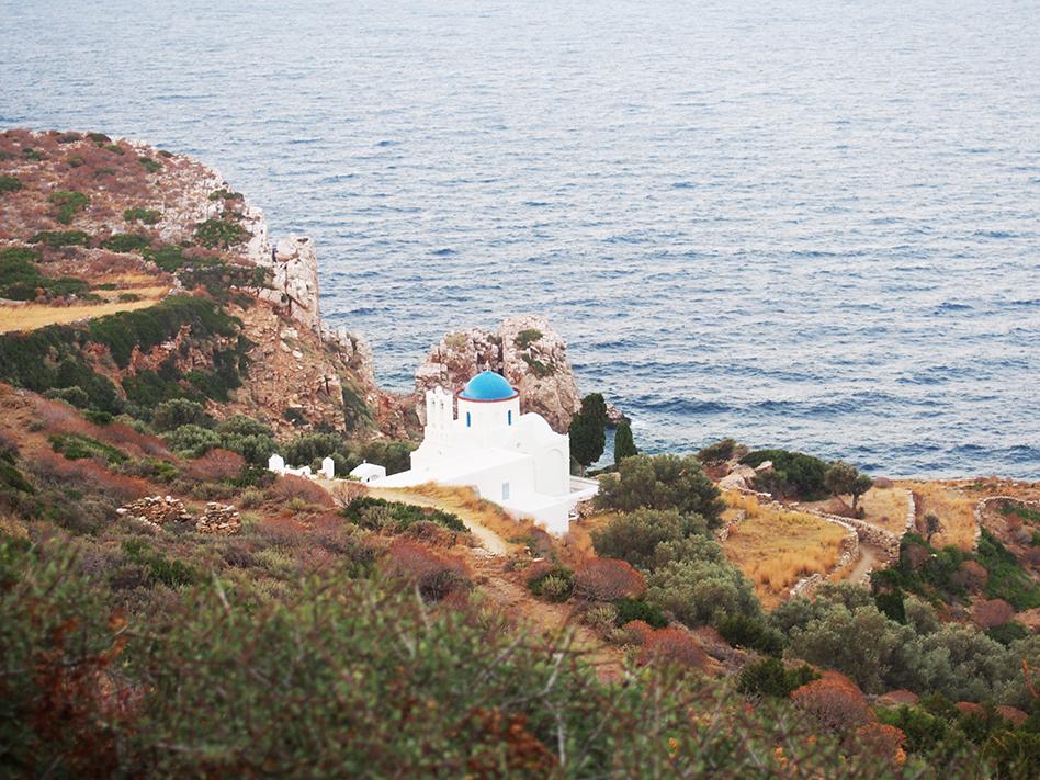 Sifnos en Grecia Panagia Poulati
