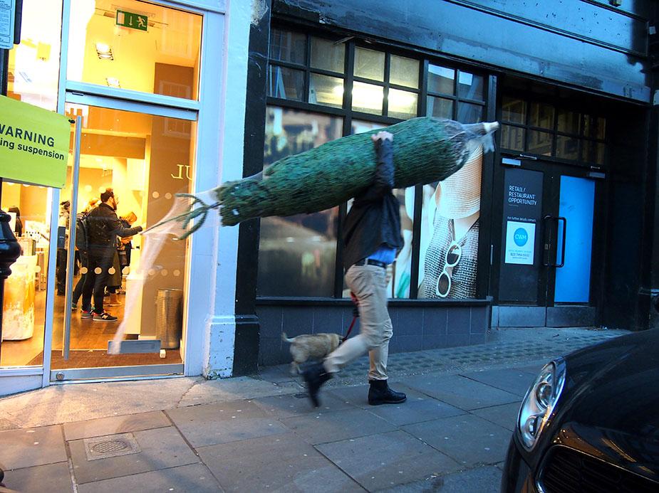 Hampstead en Navidad árbol Navidad