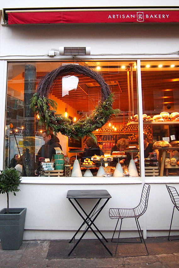 Hampstead en Navidad Gails