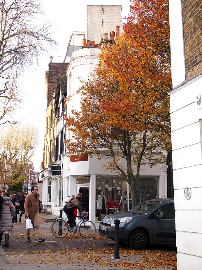 Hampstead en Navidad Hampstead High-St
