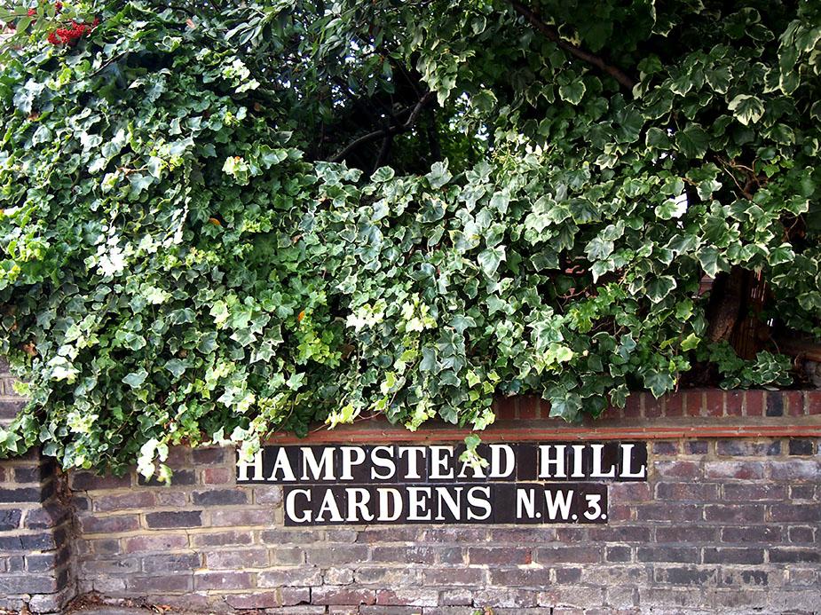Hampstead en Navidad Hampstead-Hill-Gardens