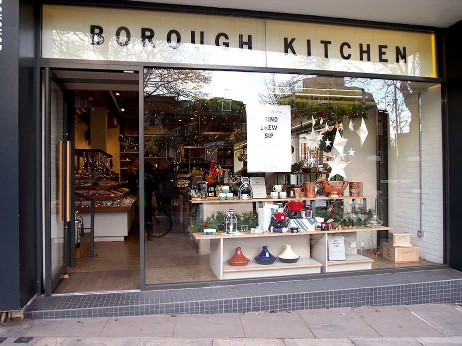 Hampstead en Navidad borough-kitchen