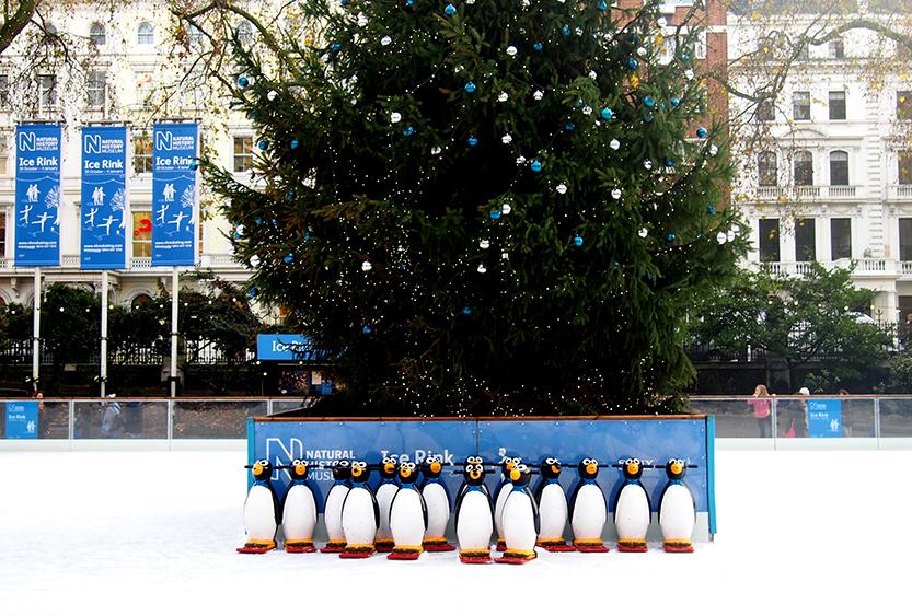 Guía de Londres en Navidad pistas patinaje
