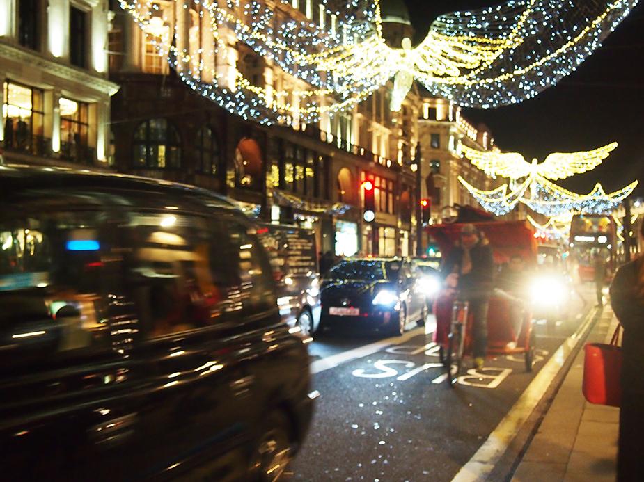 Guía de Londres en Navidad regent street