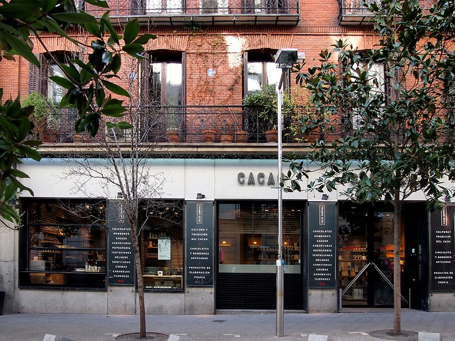 Barrio de las Salesas de Madrid Cacao Sampaka