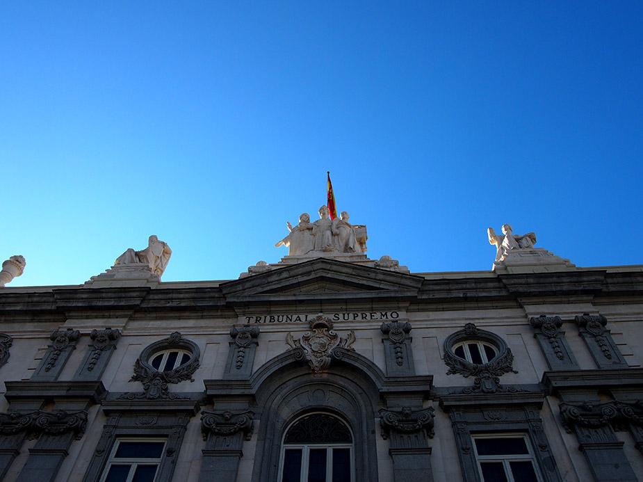 Barrio de las salesas tribunal supremo