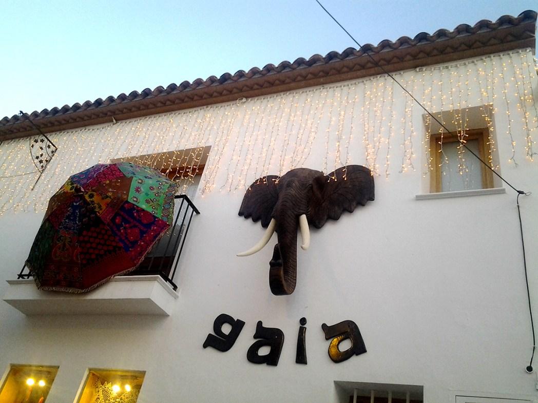 Altea elefante fachada
