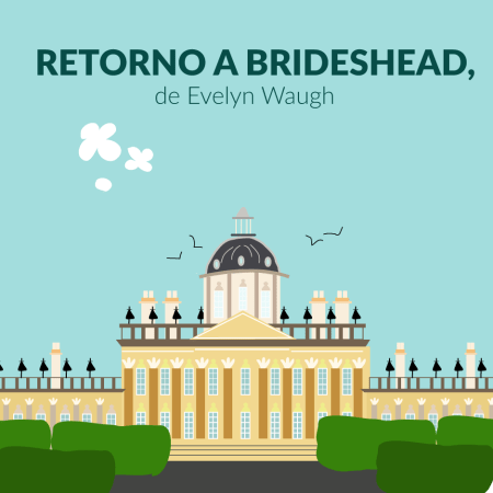 Retorno a Brideshead, de Evelyn Waugh dibujo