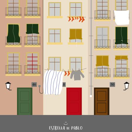 El Raval, un paseo genial por uno de los barrios de Barcelona Dibujo