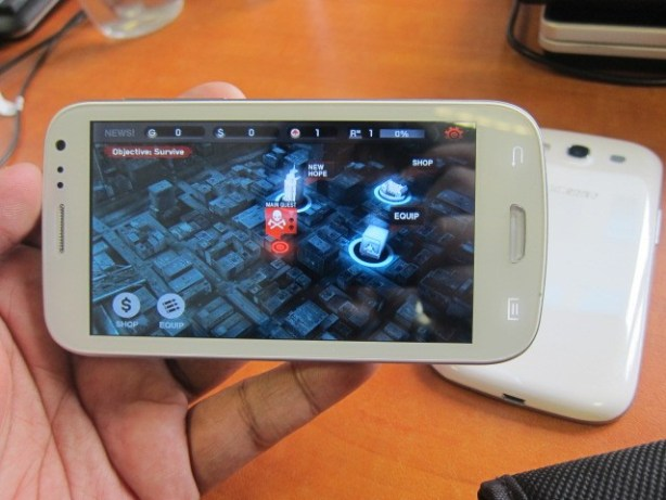 Yes, Dead Trigger works well on the Cherry Mobile Blaze