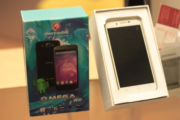 Cherry Mobile Omega HD... officially unboxed!