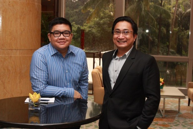 Sony Mobile PH's Dino Romano, Assistant Manager for Channel & Accounts and Alvin De Vera, Director Brand Activation Management