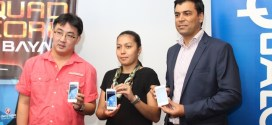 Cherry Mobile and Qualcomm executives pose with the Flare 2.0