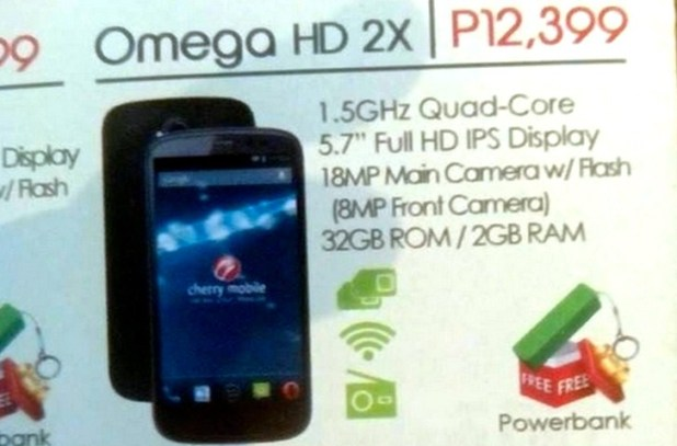 Cherry Mobile Omega HD 2x