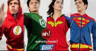 Official Justice League Inspired Hoodies to be Sold at ToyCON (June 19-21)