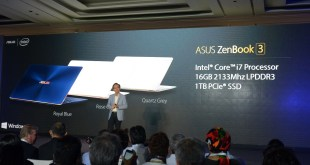 ASUS Announces New Zenbook 3