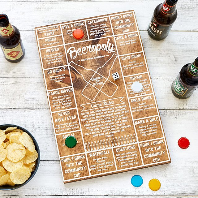 Beeropoly Beer Game UncommonGoods
