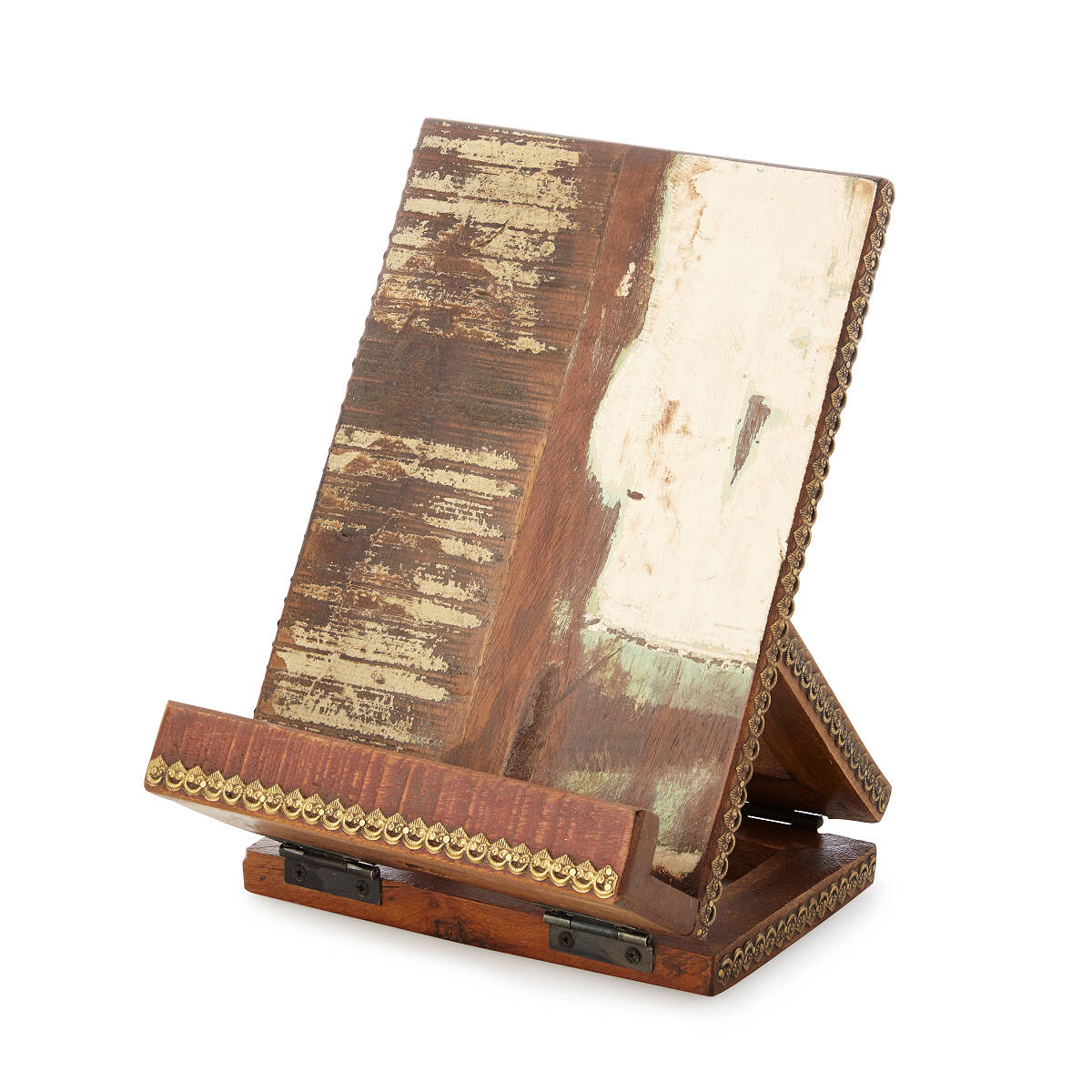 Simple Salvaged Wood Cookbook Tablet Stand Thumbnail Salvaged Wood Cookbook Tablet Stand Cookbook Recipe Book Recipe Book Her Bed Bath Beyond Recipe Book Her Briscoes houzz-02 Recipe Book Holder