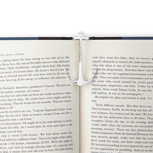 Page Anchor Bookmarks, Gifts for Readers UncommonGoods