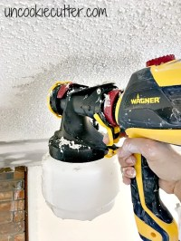 Remove Texture from Ceilings the Easiest Way EVER ...