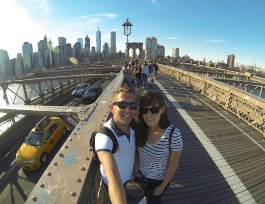 un couple en vadrouille à new york