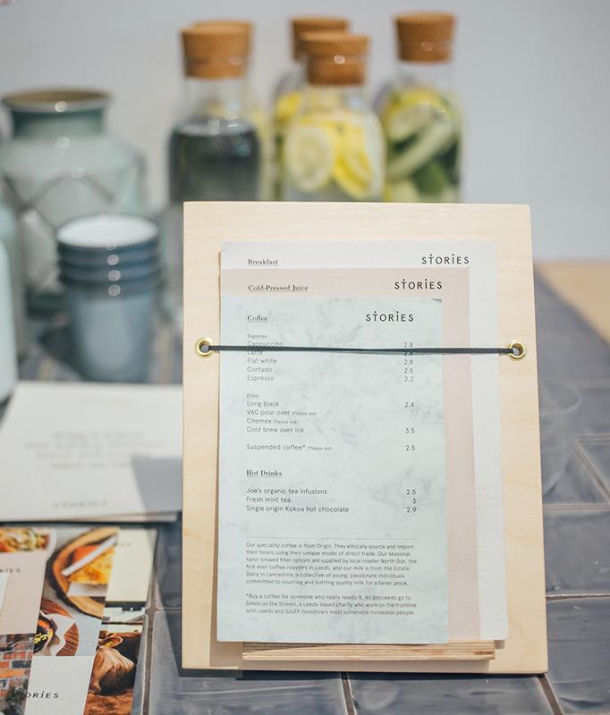 Art of the Menu Stories - coffee menu