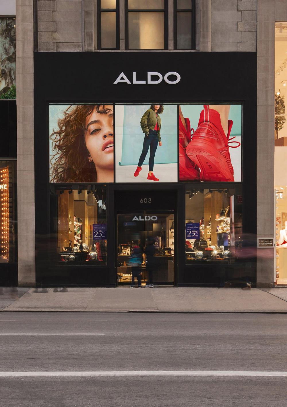 aldo shoes store resume example