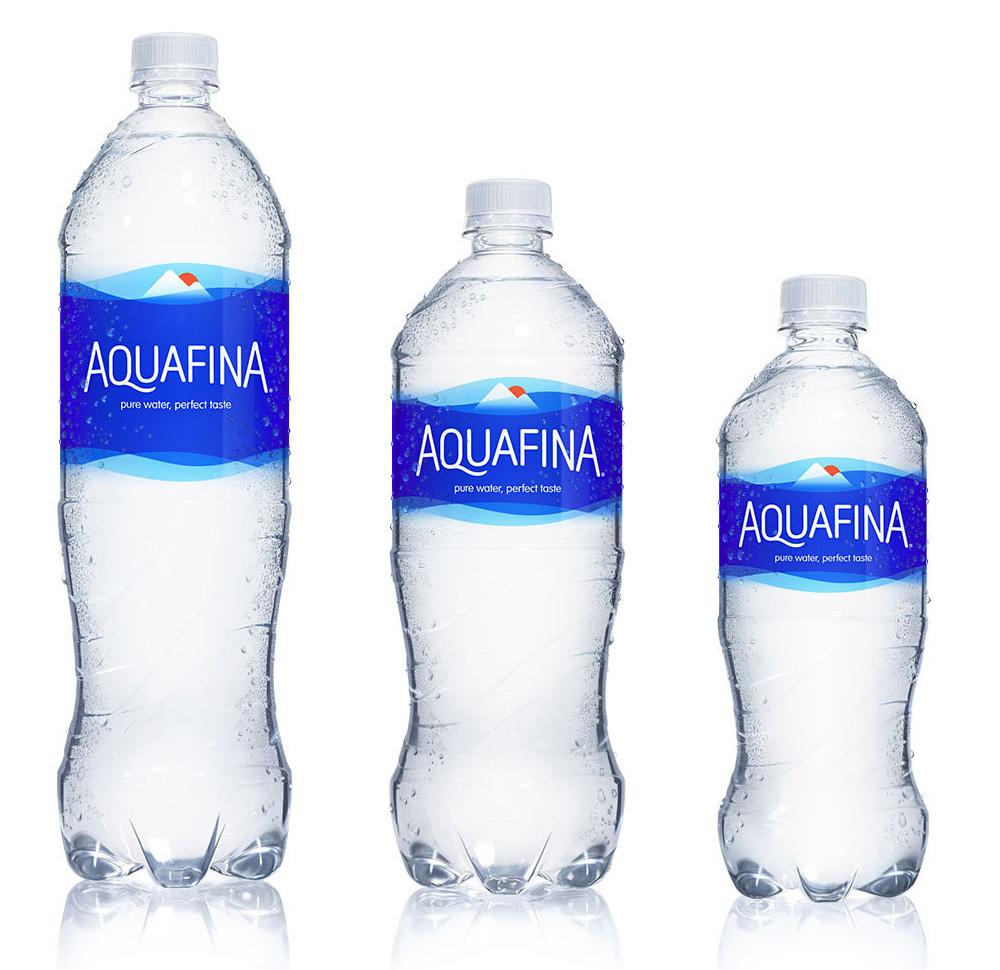 water bottle label sizes