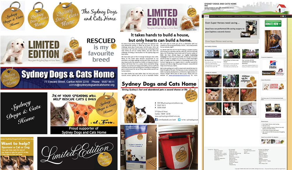 Brand New New Logo and Identity for Sydney Dogs \ Cats Home by - example of a wanted poster
