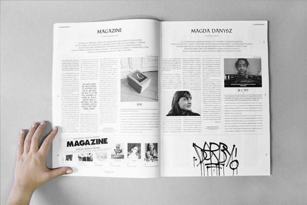 FPO Say What Studio Newspaper - studio brochure