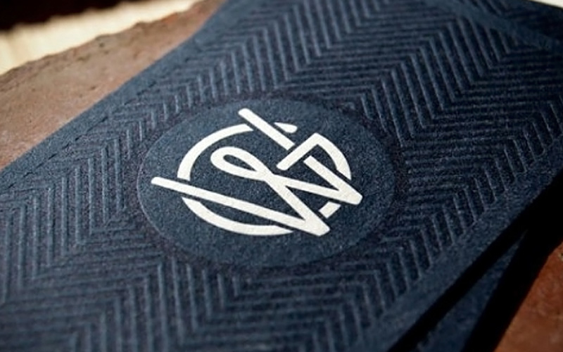 FPO Wright \ Goebel Business Cards - letterpress business card