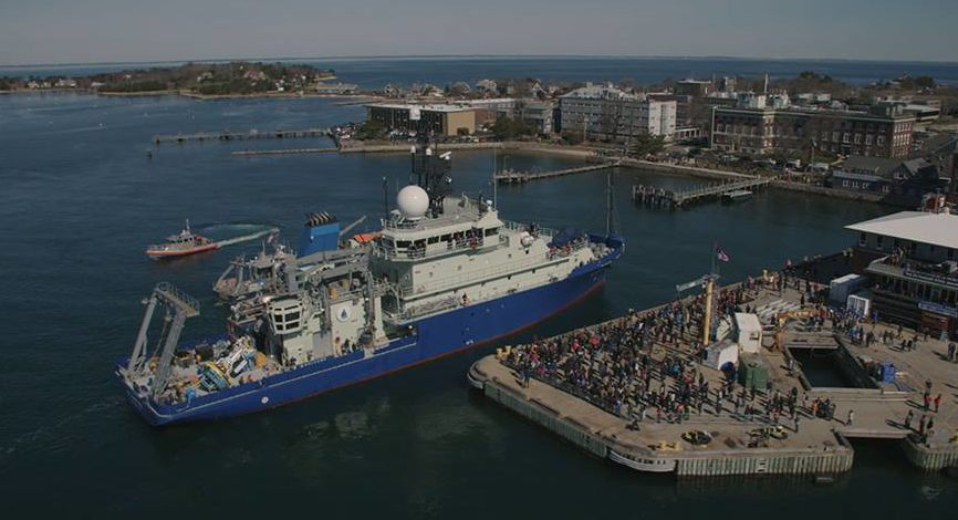 R/V Neil Armstrong Arrival