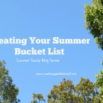 Creating your Summer Bucket List for Summer Sanity