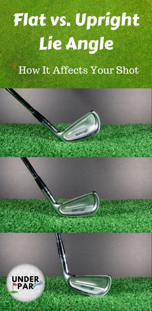 Flat vs Upright Lie Angle (How It Affects Your Shot)