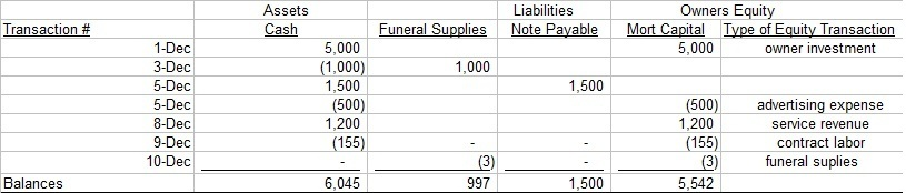 Simple Balance Sheet and Income Statement Example - Sample Simple Income Statement