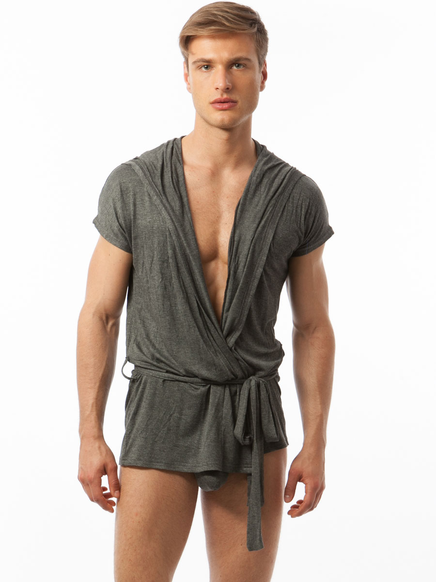 Review – N2N Bodywear Lounge Robe | Underwear News Briefs