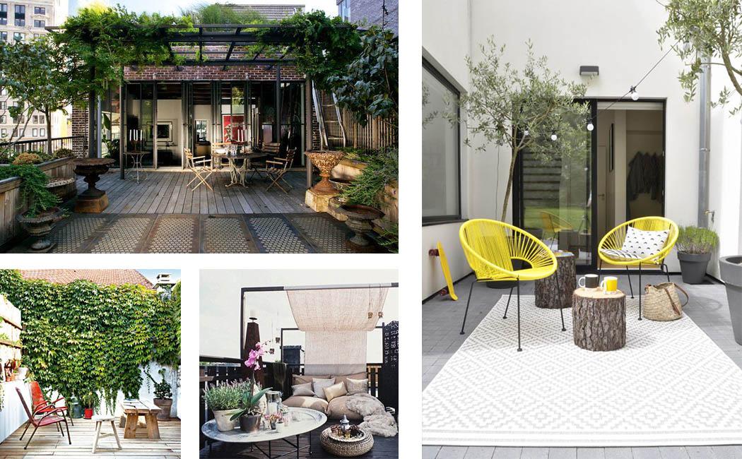 Amnagement Petite Terrasse. Affordable Cultivez Fleurs Et Plantes En ...
