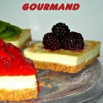 Carrés de cheesecake gourmands