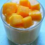 Crème légère et facile à la mangue
