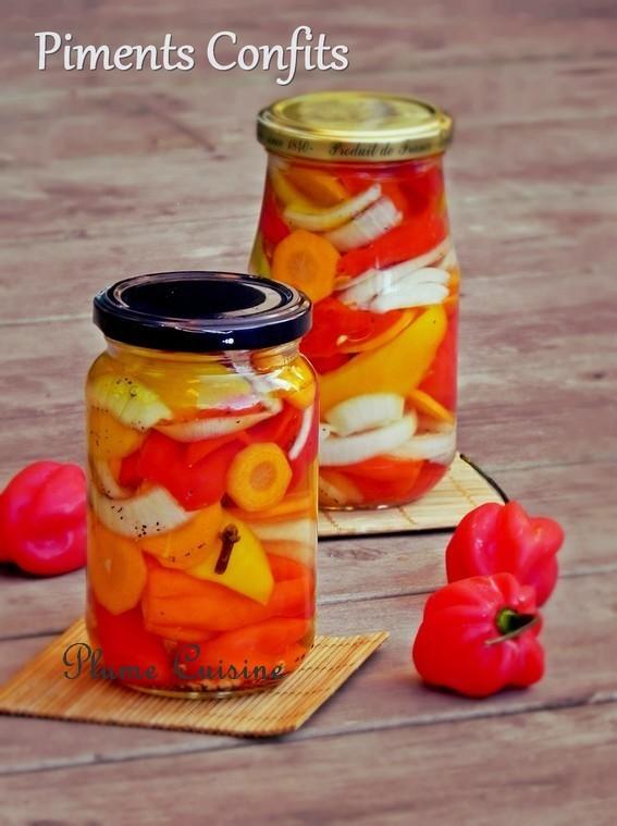 recette piment antillais au vinaigre