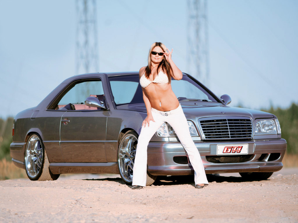 Tuning Car Girl Wallpaper Sexy 17 Fonds 233 Cran Gratuits Sur L Automobile 224