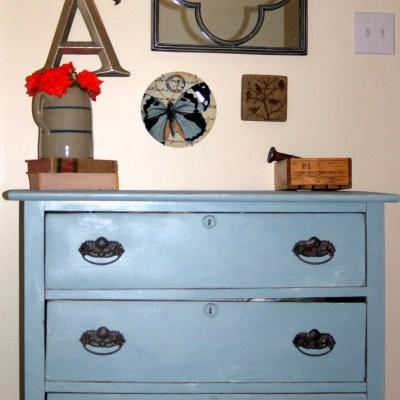 Robin Egg  Blue Dresser
