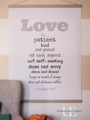 DIY LOVE Chart