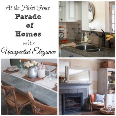 My Home Tour over At The Picket Fence