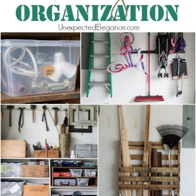 Garage Organization |  Take Back Your House